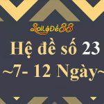 Bộ số đề 23