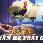 Nằm mơ thấy con gà thì đánh con gì?