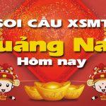 Soi cầu XSMT Quảng Nam hôm nay