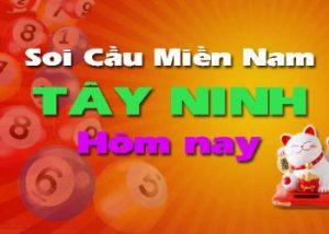 Soi cầu XSMN đài Tây Ninh hôm nay