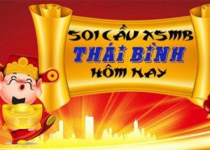 Soi cầu XSMB đài Thái Bình hôm nay