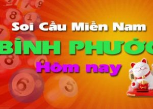 Soi cầu XSMN đài Bình Phước hôm nay
