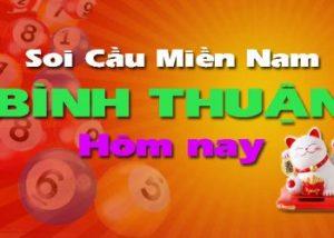 Soi cầu XSMN đài Binh Thuận hôm nay
