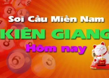 Soi cầu XSMN đài Kiên Giang hôm nay