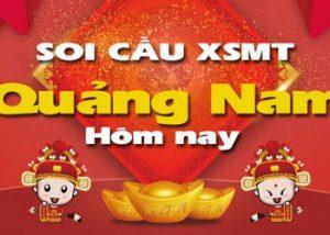 Soi cầu XSMT đài Quảng Nam hôm nay