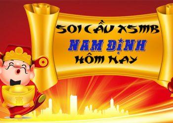 Soi cầu XSMB đài Nam Định hôm nay