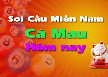 Soi cầu XSMN đài Cà Mau hôm nay